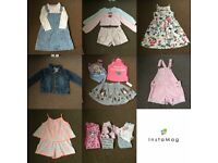 Lovely girl clothes bundle age 2-4 Year