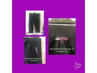 Mountainlife gym trousers Ladies size 10