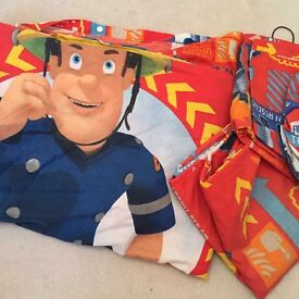 Double bed cover 2 pillowcases Foreman sam
