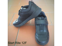 Start Rite boys black leather shoes. Size 12F. £10 ovno. Happy to post.