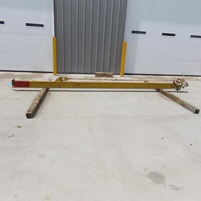 Reliable 1000lb 12 Ton Cap Wall-mount Overbraced Tie-rod Jib Crane 150 Swing