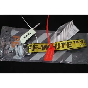 yellow off white belt for sale