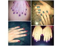 ** FRIENDLY PROFESSIONAL NAIL TECHNICIAN LEEDS GEL NAILS ONLY £15.00 **