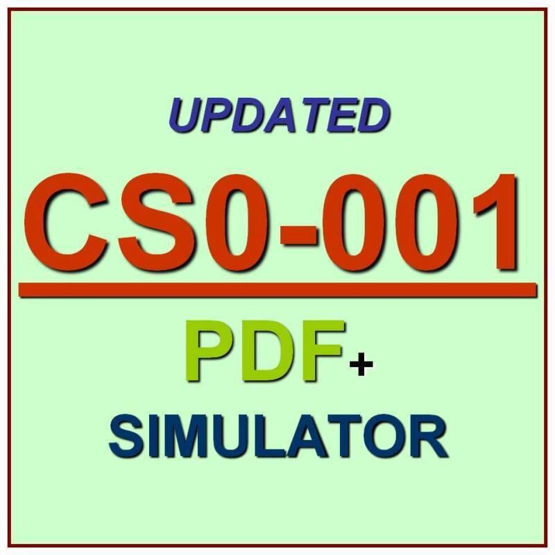 CompTIA CSA+ CYSA+ Certification Cybersecurity Analyst Exam Test CS0-001 QA+SIM