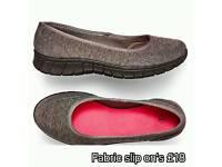 Fabric Slip Ons