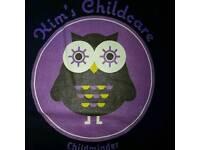 Kims childcare,Registered childminder