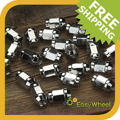 24 Bulge Acorn Lug Nuts 12x1.25 thread fits Subaru and Suzuki Cars and Trucks
