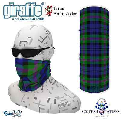 Campbell Clan Scottish Tartan Multifunctional Headwear Neckwarmer Snood Bandana