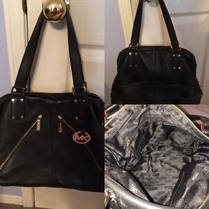 Authentic leather MK purse