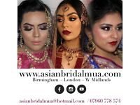 Asian Bridal Makeup Artist Covering Coventry. Bridal Hair & Makeup Special Offer £170