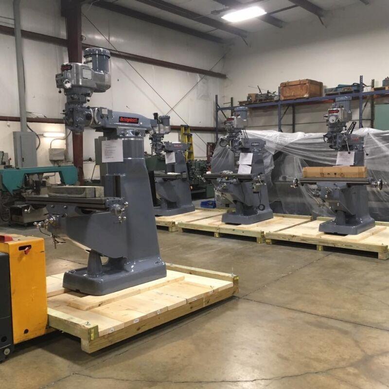 BRIDGEPORT MILLING MACHINES IN OHIO