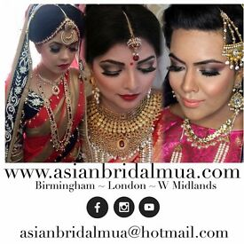 Birmingham Makeup Artist - Asian Bridal Makeup & Hair Package / Asian Bridal Makeup Artist