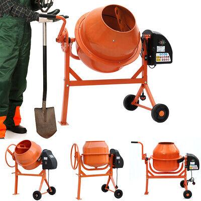 Electric Cement Mixer 63/120/140L 50HZ Electric Concrete Mortar Plaster Mixing