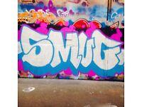 Wall painting and Decorating, Street Art, Graffiti Cartoons