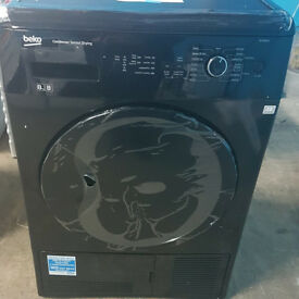 K452 black beko 8kg condenser dryer comes with warranty can be delivered or collected