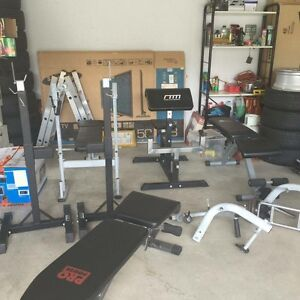 Full home gym set/equipment Oxley Brisbane South West Preview
