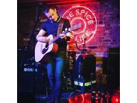 Solo Acoustic Act Available For Gigs In Pubs/Restaurants.