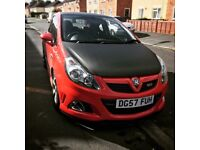 Corsa Vxr! Low miles! Looking for swap for bigger car e.g. Audi/bmw Estates