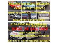 WANTED! CARS, VANS, CARAVANS! MOT FAILURES! SCRAP ALSO DAMAGED! £150-£3000 PAID IN CASH! 07854699959