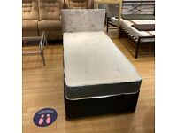 Highly Demanding ~ New Divan Single Bed With Decent Mattress