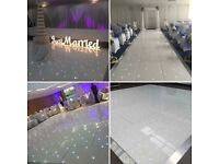 ** Wedding Services - Led Dancefloor Hire - Free 4ft Love Letters!! **