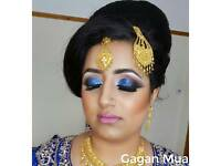 Professional Asian/Indian bridal or party hair, makeup and henna artist in Birmingham