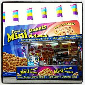Mini Donuts Trailer for Sale