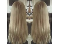 Luxury Hair Extensions - no heat no glue!