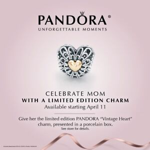 Limited edition 2014 Mother's Day Pandora Charm