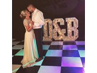 LOVE led light up, All letters available in Lights or Floral flowers wedding event party