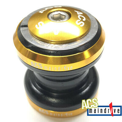 "Black Head Set from ACS Crossfire 1-1//8/"" Alloy Headset Sealed Bearing"