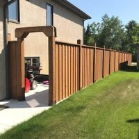 Need your fence deck or garage build before winter?