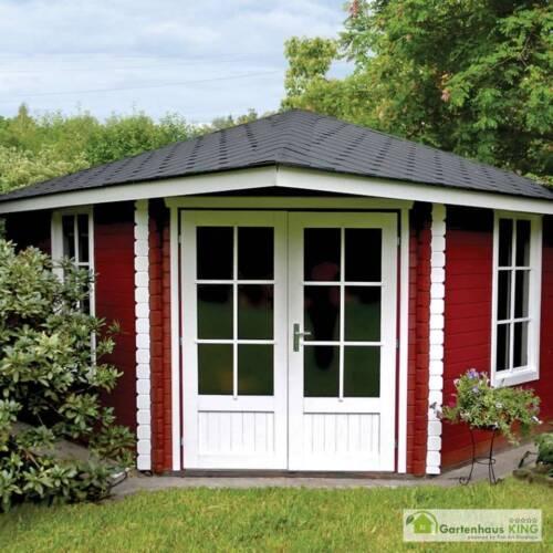 gartenhaus holz 6x3m blockhaus 40 mm holzhaus mit. Black Bedroom Furniture Sets. Home Design Ideas