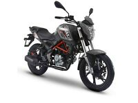 Special Offer KSR GRS 125cc (Euro 3) 66 Plate, Was £2399 - NOW £2000