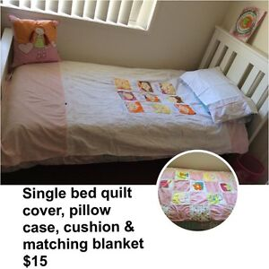 Single bed quilt cover set. Oakey Toowoomba Surrounds Preview