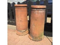 VICTORIAN CHIMNEY POTS X 2 BARGAIN ONLY £35 EACH !