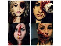 Prices Start From 30 Halloween Makeup Sfx Makeup Artist Special Effects Face Painting
