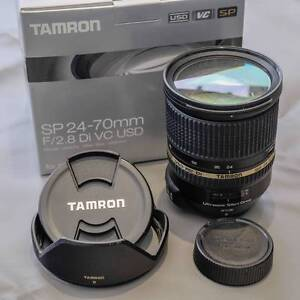 Tamron 24-70 f2.8 VC Zoom Lens Nikon Mount St Ives Chase Ku-ring-gai Area Preview