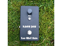 Lone Wolf Audio Knob Job boost pedal effect fx guitar overdrive signal booster