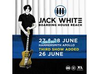 1 «stalls standing» ticket - Jack White - Tuesday 26th June