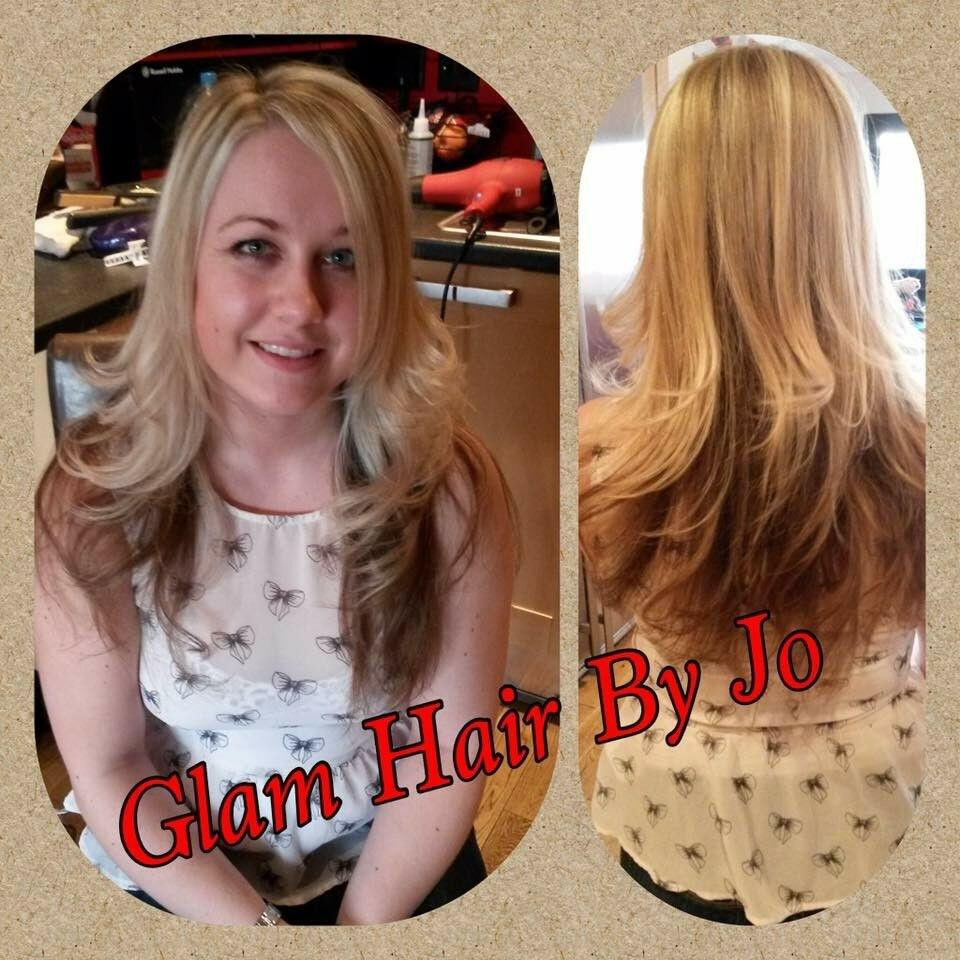 Glam Hair By Jo Mobile Hairdresser Hair Extension Techincian In