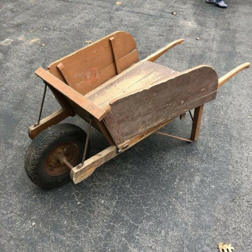 Antique Wooden Wheelbarrow from Merrimack, NH