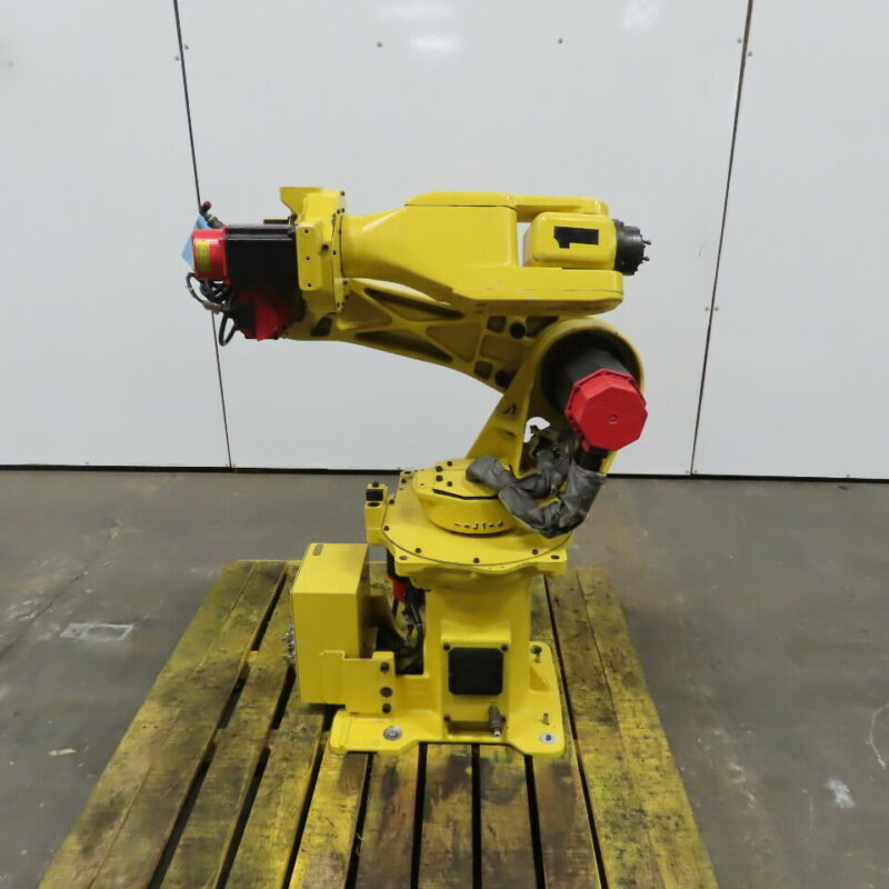 Fanuc M-6i 6 Axis Robot With 2 Brake Arm Tested