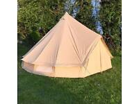 5 Metre Bell Tent for Hire EXETER