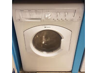 a459 white hotpoint 7kg washer dryer comes with warranty can be delivered or collected