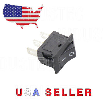 3pin 2 Position 15mm 21mm Maintained Small Rocker Switch Spdt 10a 125 Vac