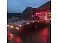 Car Recovery and transport or scrap car collection service