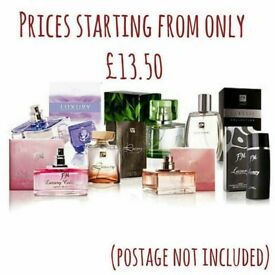 High street brand perfumes and aftershaves