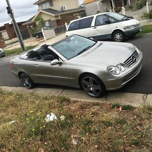 Mercedes CLK320 Convertible heaps spent on it must go!!! Darley Moorabool Area Preview