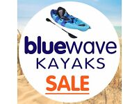 BLUEWAVE KAYAK WINTER WAREHOUSE CLEARANCE - KAYAKS SUPS PADDLE BOARDS FISHING KAYAKS